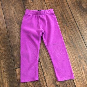 The children's place purple fleece pants